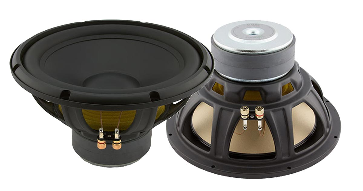AudioFrog G Range Woofers